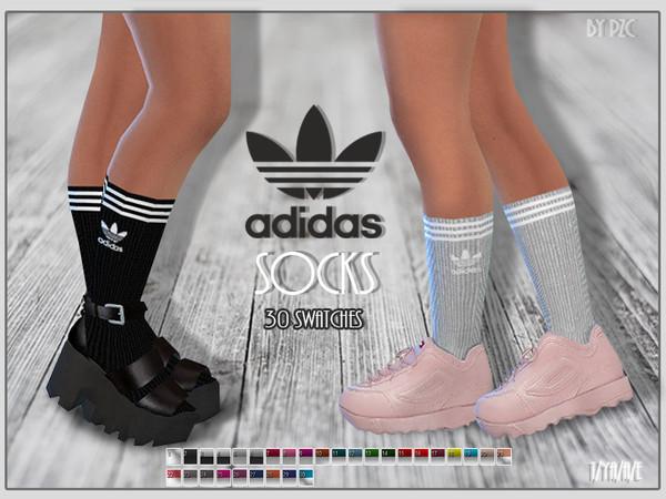 Socks by Pinkzombiecupcakes at TSR image 1194 Sims 4 Updates