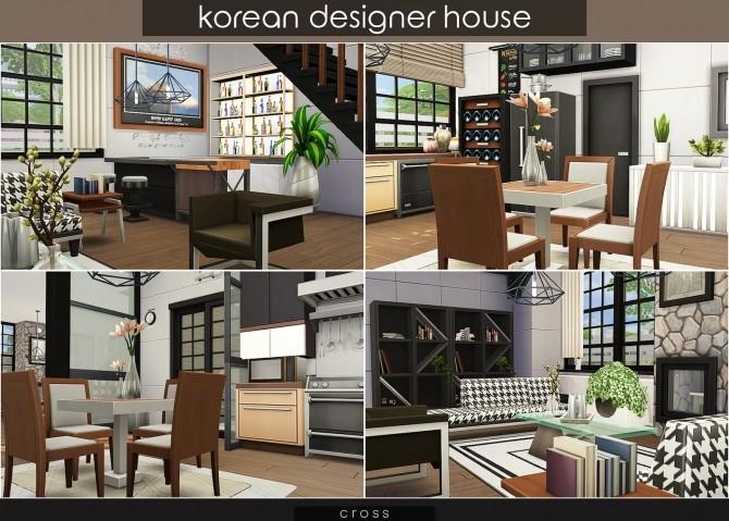 Korean Designer House at Cross Design image 1201 670x479 Sims 4 Updates