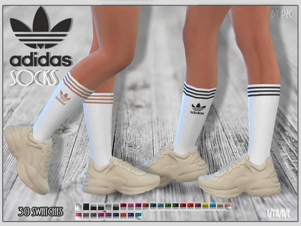 Socks by Pinkzombiecupcakes at TSR image 1204 Sims 4 Updates