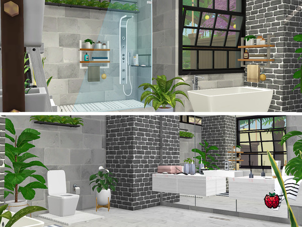 Suzanne two storey house by melapples at TSR image 12101 Sims 4 Updates