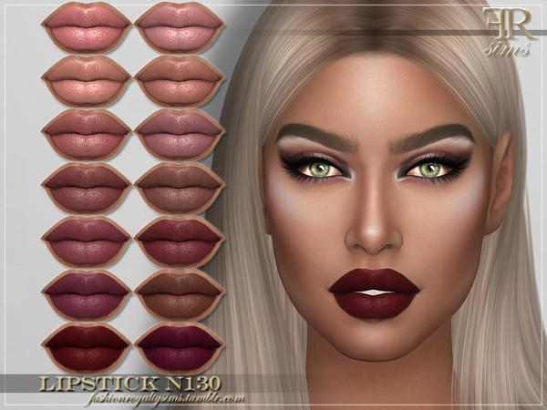 Sims 4 FRS Lipstick N130 by FashionRoyaltySims at TSR