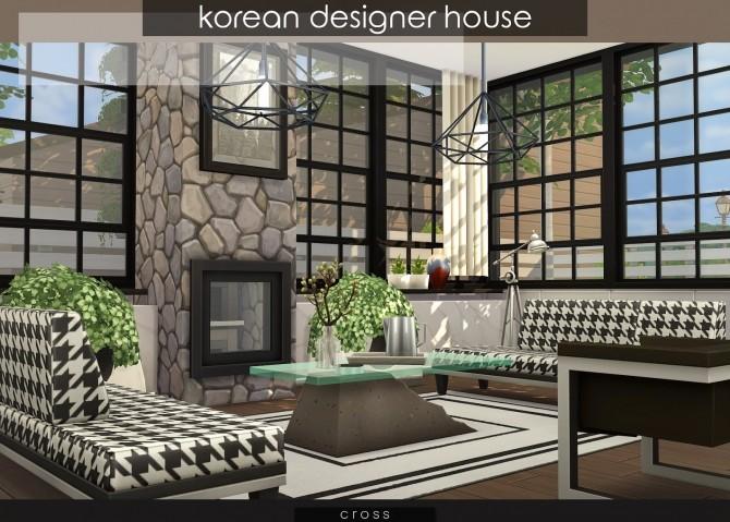 Korean Designer House at Cross Design image 1221 670x479 Sims 4 Updates