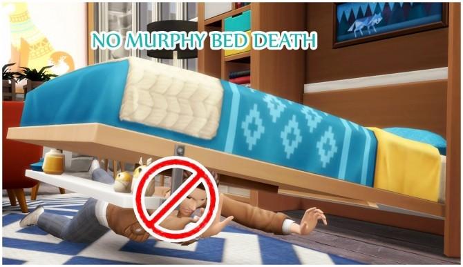 Sims 4 NO DEATH   MURPHY BED at Icemunmun