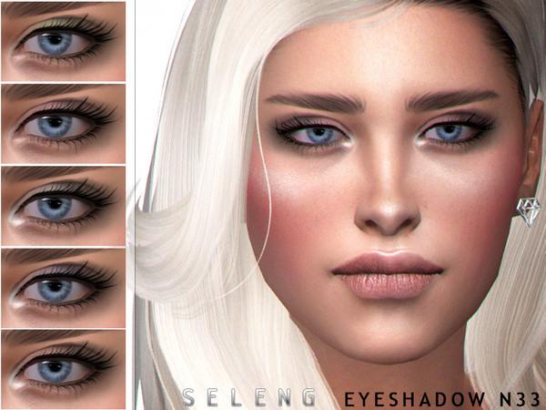 Sims 4 Eyeshadow N33 by Seleng at TSR