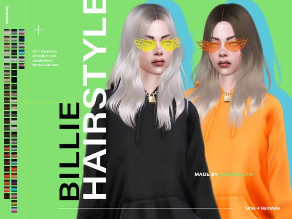 Billie Hairstyle by Leah Lillith at TSR image 1239 Sims 4 Updates