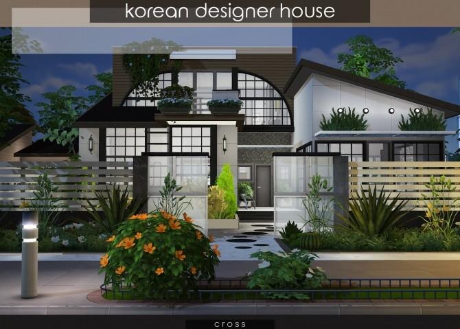 Korean Designer House at Cross Design image 1241 670x479 Sims 4 Updates