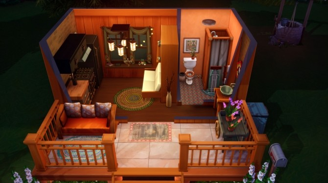 Sims 4 Tiny Living Micro Home Speed Build at Katverse
