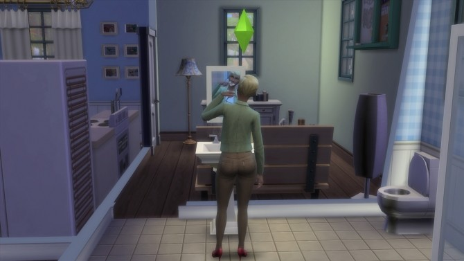 Sims 4 Sims Brush Teeth Faster by SHEnanigans at Mod The Sims
