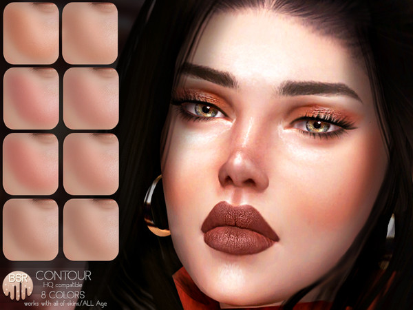 Sims 4 Contour BH11 by busra tr at TSR