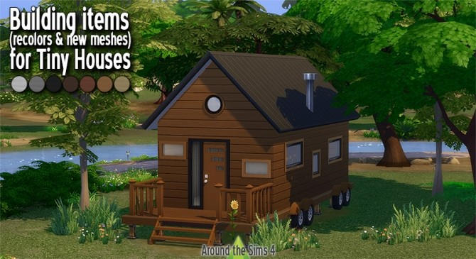Tiny Houses & Trailers set by Sandy at Around the Sims 4 image 1297 670x365 Sims 4 Updates