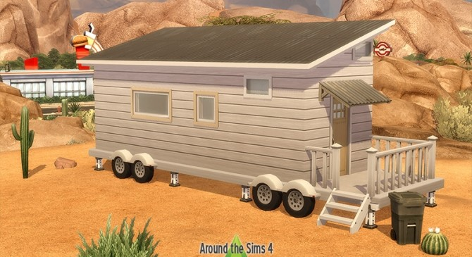 Tiny Houses & Trailers set by Sandy at Around the Sims 4 image 1306 670x365 Sims 4 Updates