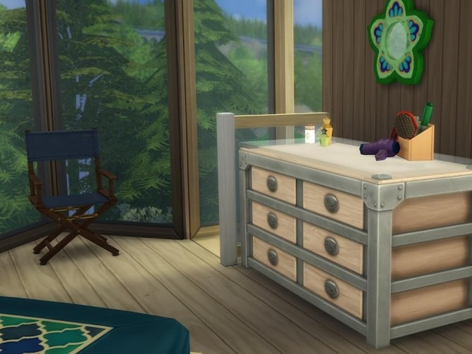 Sims 4 The Tree Top House at KyriaT's Sims 4 World