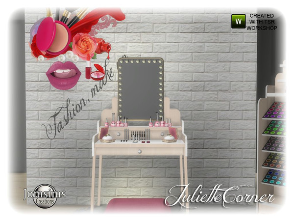 Sims 4 Juliette corner by jomsims at TSR