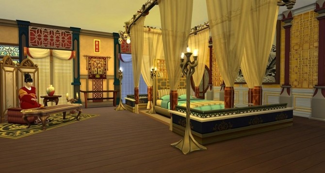 Sims 4 Palace of Happiness by meliaone at L'UniverSims