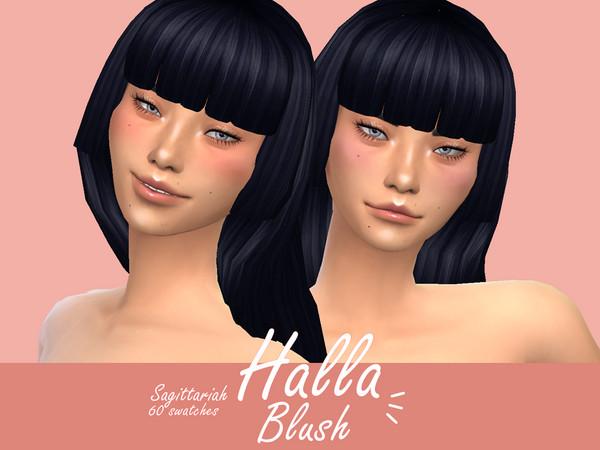 Sims 4 Halla Blush Subtle Megapack 60s by Sagittariah at TSR