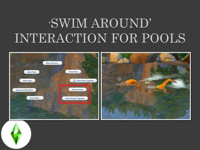 Swim Around in Pools by Teknikah at Mod The Sims image 1342 670x503 Sims 4 Updates