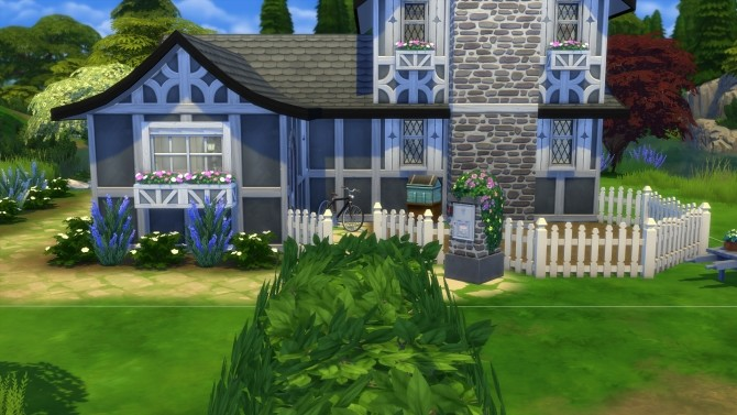 Sims 4 Witchs Cottage by ElvinGearMaster at TSR
