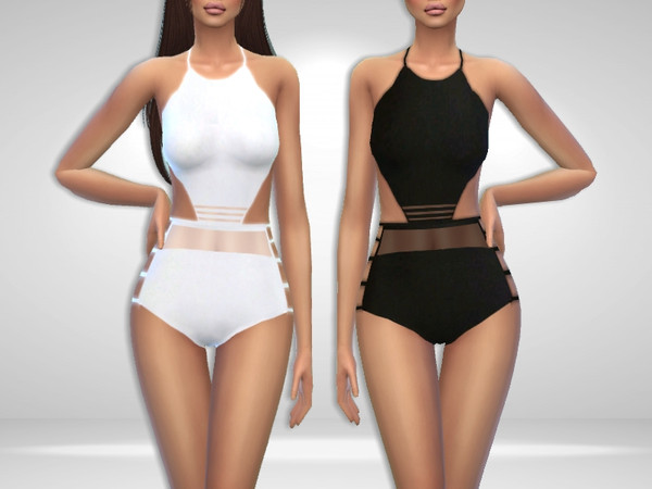 Sims 4 Tornado Swimsuit by Puresim at TSR