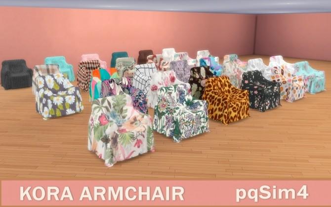 Sims 4 Kora armchaiir at pqSims4
