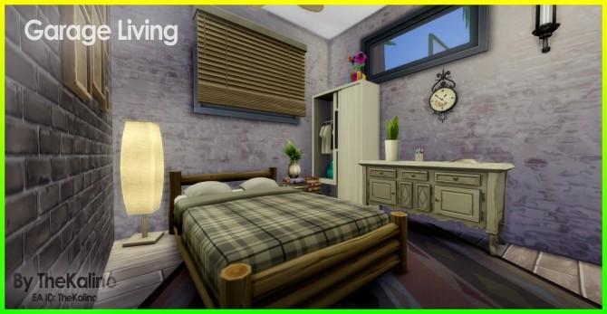 Sims 4 Garage Living at Kalino