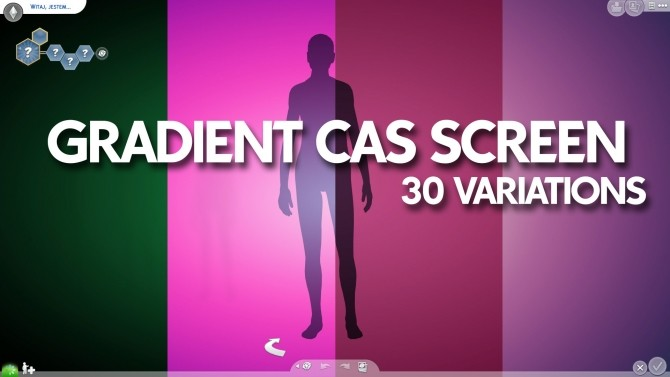 Gradient CAS Screen by Ahinana at Mod The Sims image 13714 670x377 Sims 4 Updates
