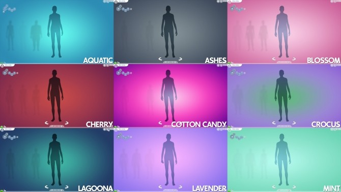 Gradient CAS Screen by Ahinana at Mod The Sims image 13812 670x377 Sims 4 Updates