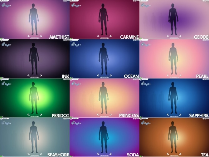 Gradient CAS Screen by Ahinana at Mod The Sims image 14012 670x503 Sims 4 Updates