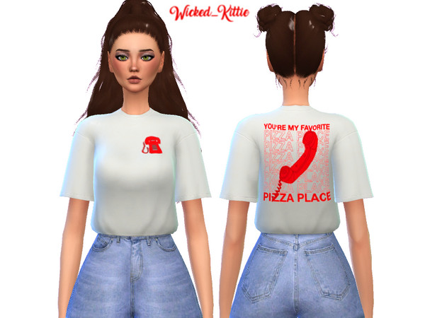 Edgy Tee Shirt Pack by Wicked Kittie at TSR image 1410 Sims 4 Updates