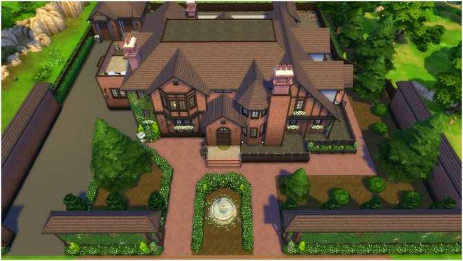 Sims 4 Rockford Estate by CarlDillynson at Mod The Sims