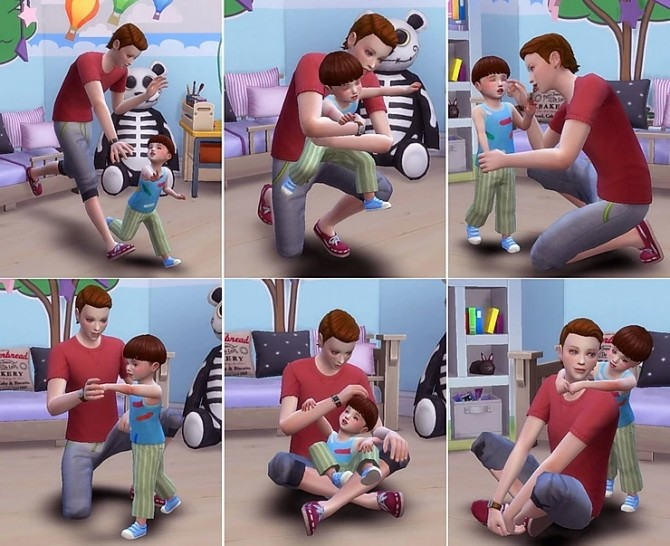 Family Pose 10 at A luckyday image 14117 670x546 Sims 4 Updates