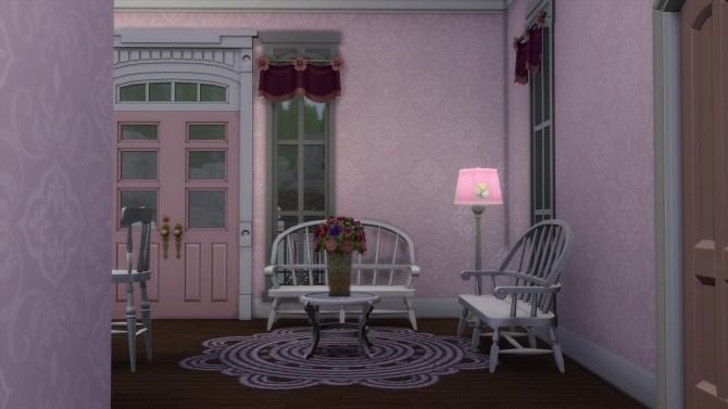 Romantic Victorian Starter Home No CC by Christine11778 at Mod The Sims image 1413 670x377 Sims 4 Updates