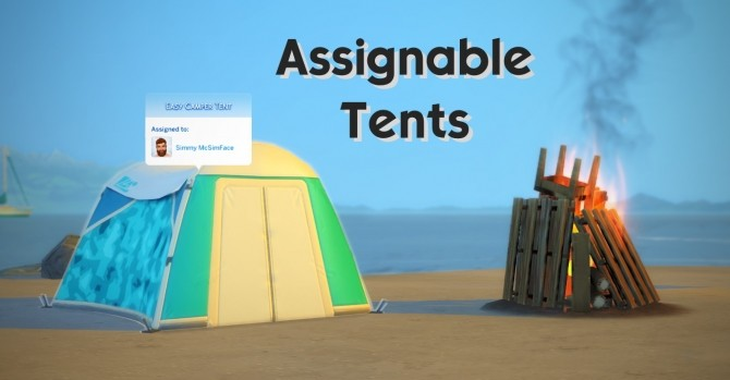 Assignable Tents by Maars at Mod The Sims image 1415 670x349 Sims 4 Updates
