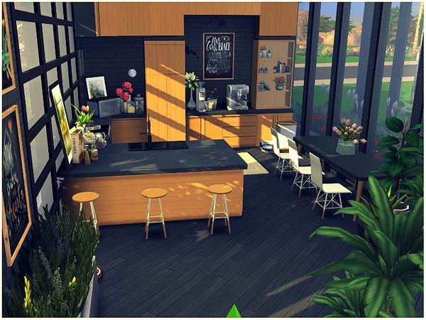 Sims 4 Stars View small modern house by lotsbymanal at TSR