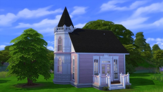 Romantic Victorian Starter Home No CC by Christine11778 at Mod The Sims image 1432 670x377 Sims 4 Updates