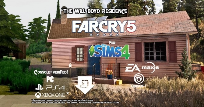 Will Boyd House from Far Cry 5 by BulldozerIvan at Mod The Sims image 14512 670x353 Sims 4 Updates