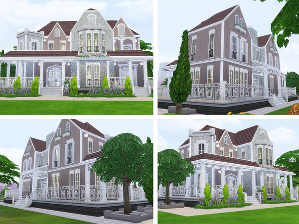 Florencia Estate family home by Ineliz at TSR image 147 Sims 4 Updates