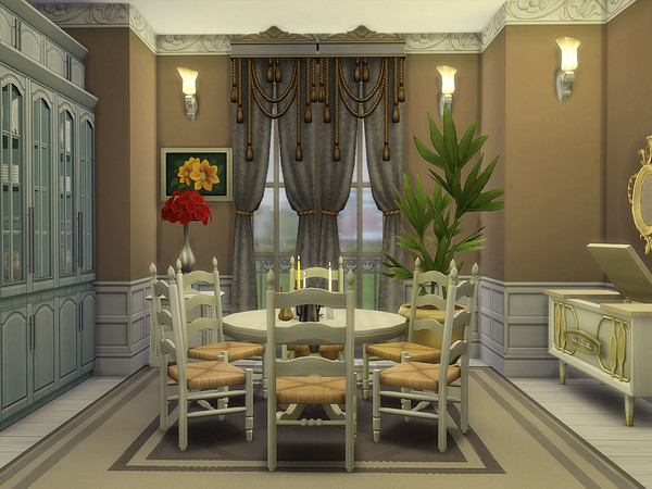 Florencia Estate family home by Ineliz at TSR image 148 Sims 4 Updates