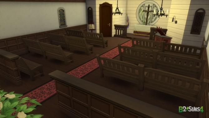 Sims 4 Denton Episcopalian Church by Brunnis 2 at Mod The Sims