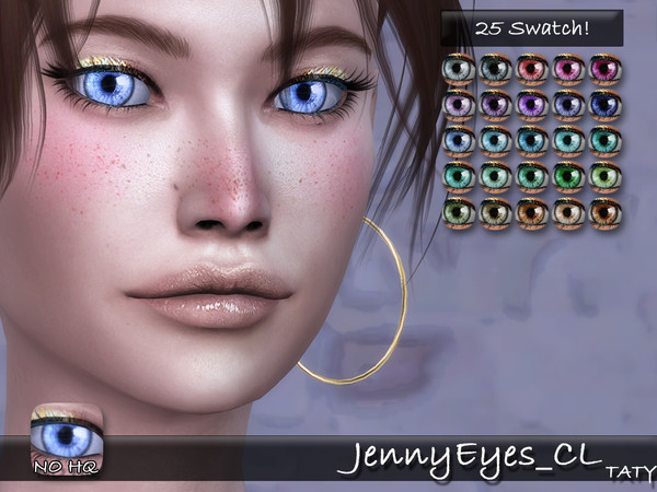 Sims 4 Jenny Eyes CL by tatygagg at TSR