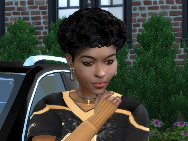 Sims 4 Surely Curly Pixie Bob by drteekaycee at TSR
