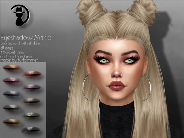 Eyeshadow M110 by turksimmer at TSR image 153 Sims 4 Updates