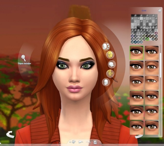 Sims 4 Sparkly Natural Colored Eyes by Serpentia at Mod The Sims