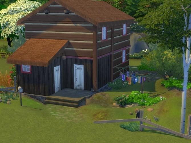 Sims 4 Nypan homestead at KyriaT's Sims 4 World