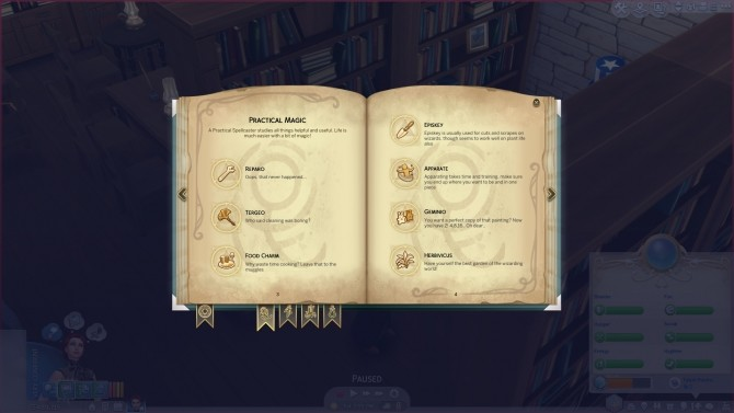 Harry Potter Spell and Potion Name Replacer by Teknikah at Mod The Sims image 1623 670x377 Sims 4 Updates