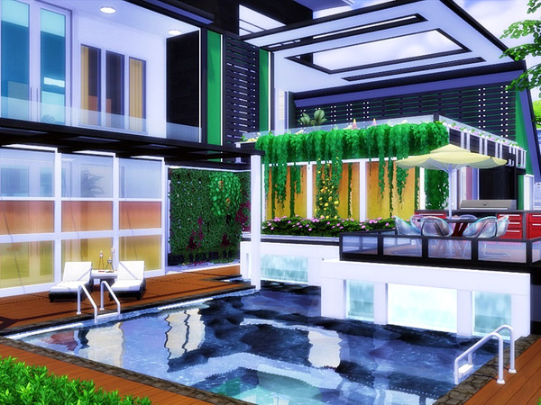 NEDO modern home by marychabb at TSR image 1627 Sims 4 Updates
