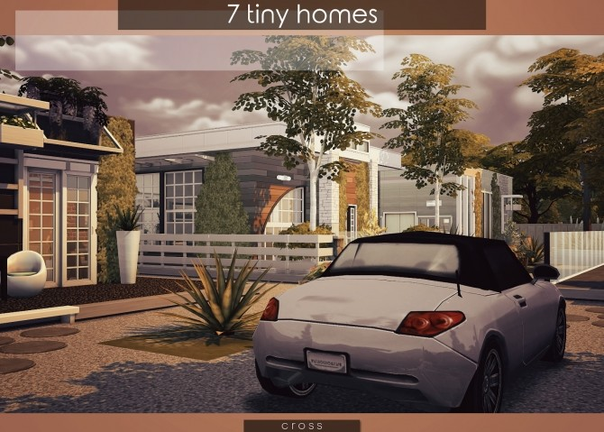 7 Tiny Homes by Praline at Cross Design image 16312 670x479 Sims 4 Updates