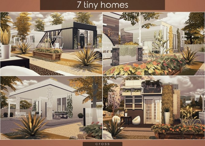 7 Tiny Homes by Praline at Cross Design image 16410 670x479 Sims 4 Updates