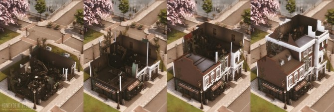 Sims 4 Honeydew Fields Home or Cafe at Helga Tisha