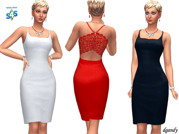 Sims 4 Dress 20200101 by dgandy at TSR