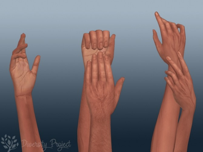 Sims 4 Lovely Flaws Default Skintone at Sims 4 Diversity Project